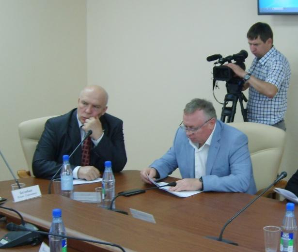 Владимир Косов и Михаил Брагин
