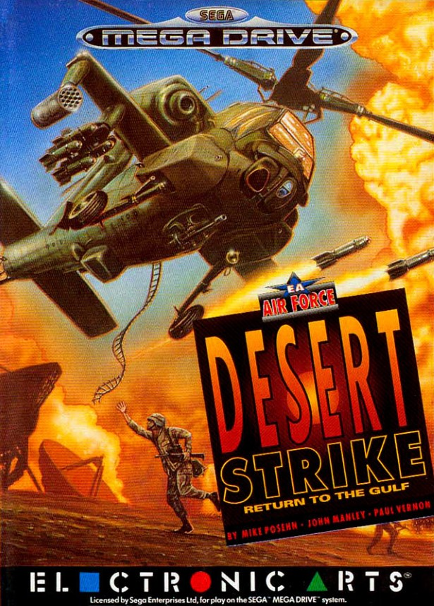 Desert Strike cover