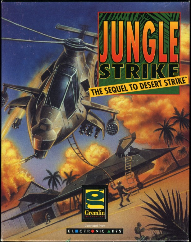 Jungle Strike cover