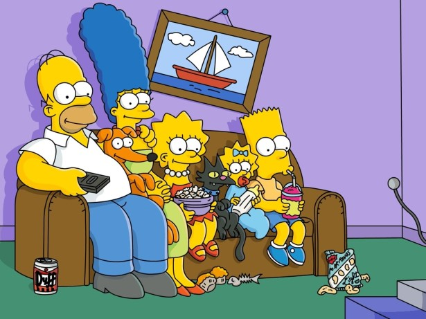6 the simpsons