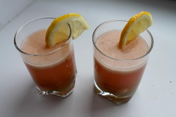 Сладкий лимонад (сверху)
