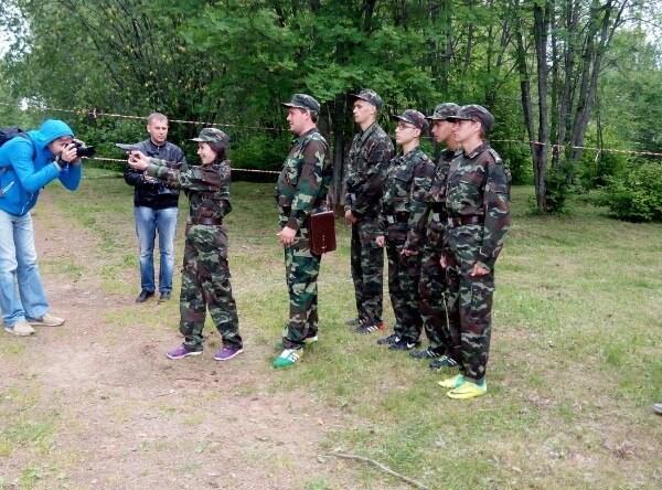Военный лагерь глазами девушек 04