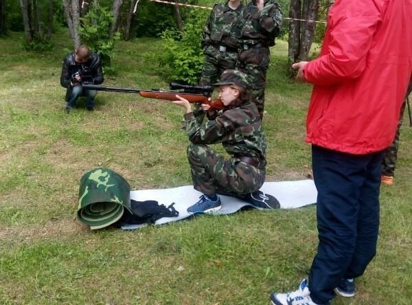 Военный лагерь глазами девушек 05