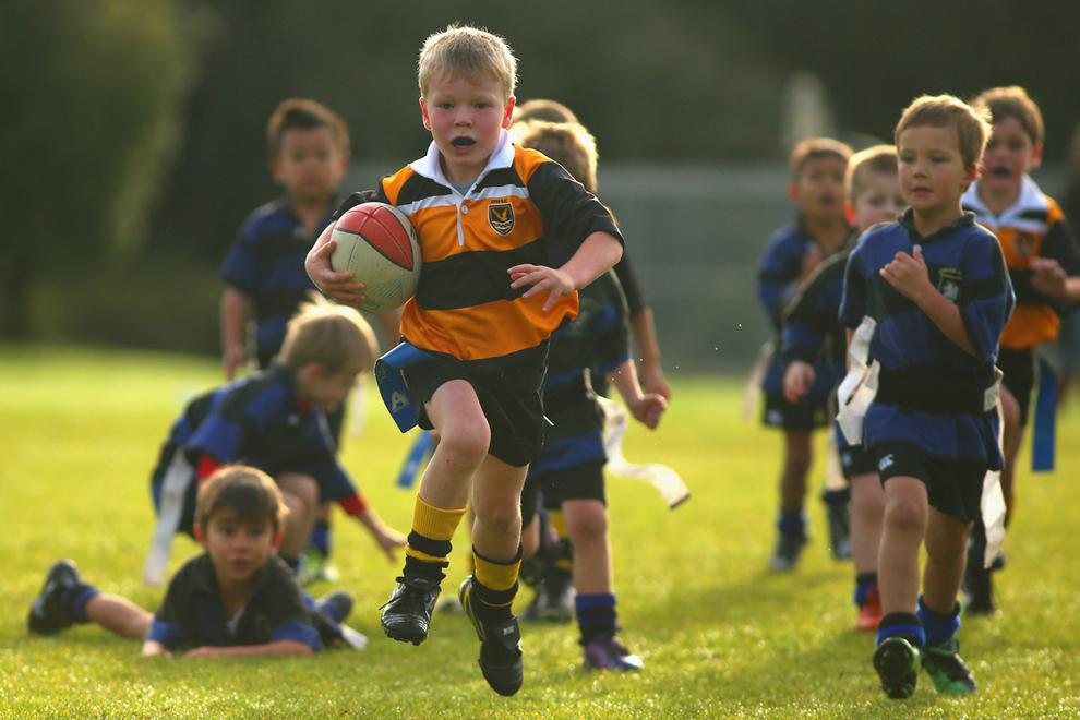 Детей и подростков из Коми научат играть в регби