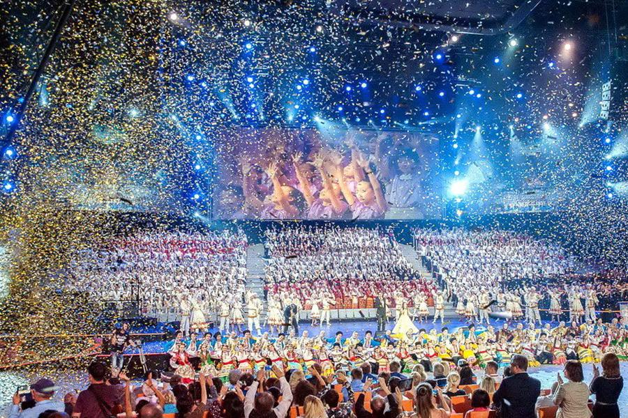 Женский хор республиканского колледжа искусств стал золотым призером Всемирных хоровых игр