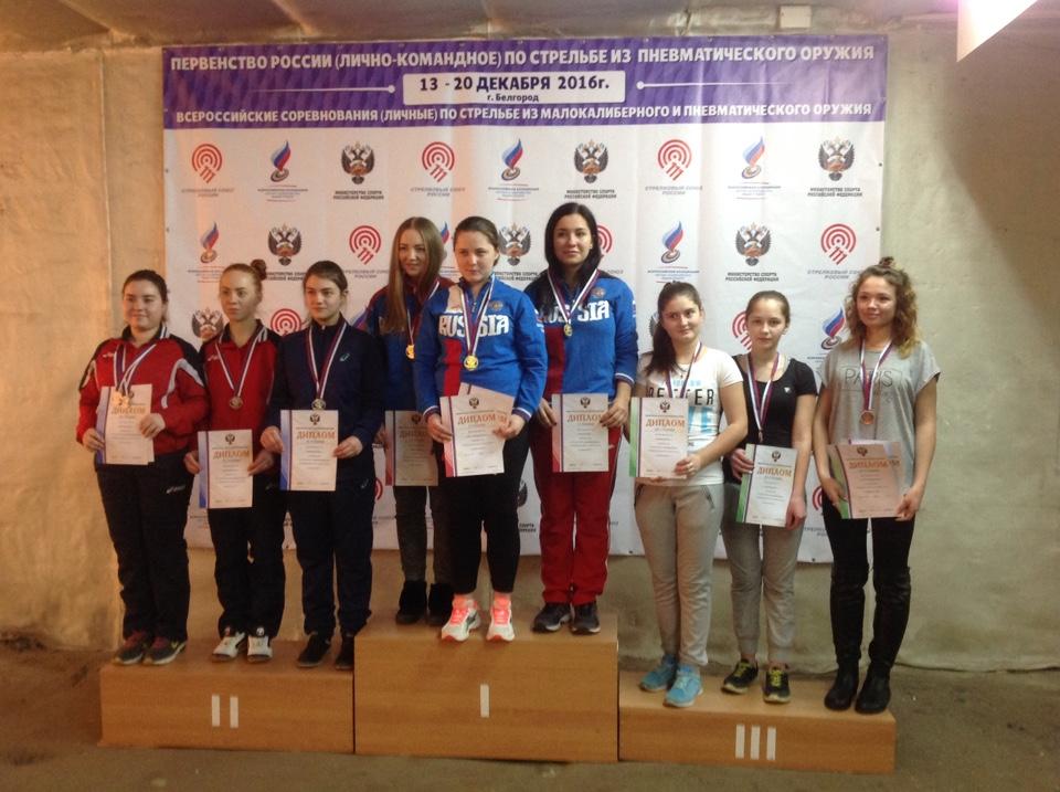 Спортсменка изБурятии стала победительницей главенства РФ популевой стрельбе