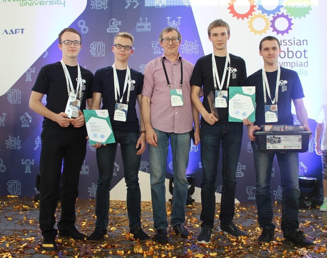 Школьники изУдмуртии стали призерами всероссийской робототехнической олимпиады